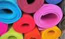 Kolorowy filc w rolkach