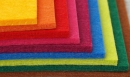100% polyester, grubość 1, 2, 3 a 5 mm