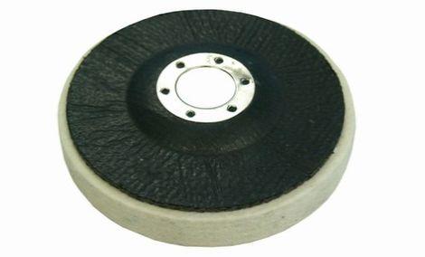 Koła filcowa na płycie z włókna szklanego średniej gęstości 0.44 g/cm3